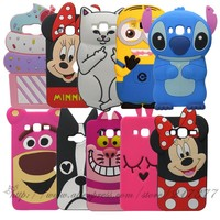 For SAMSUNG GALAXY J3 Case Cartoon Minnie Stitch Bunny Soft Silicone Phone Protective Cover Case For SAMSUNG GALAXY J3 2016 J320