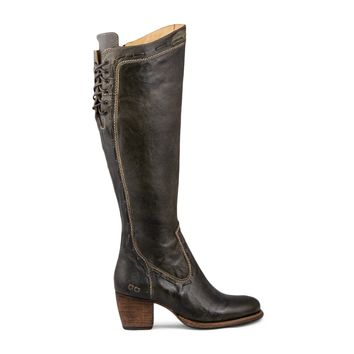 Bed Stu Fortune Tall Boot Women's - Taupe Rustic