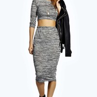 Brittany Slub Marl Co-Ord Set