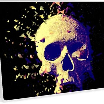 'Death' Laptop Skin by RoxanneG
