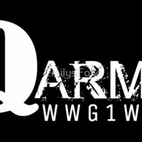 'QANON ARMY WWG1WGA GIFT ITEMS' by EmilysFolio