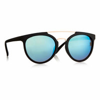 Black Round Revo Sunglasses - Sunglasses & Glasses - Shoes and Accessories