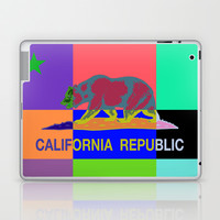 California Republic Abstract Colorful Laptop & iPad Skin by NorCal
