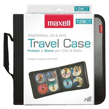 Maxell 128-capacity Cd Storage Case