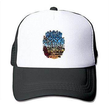 TOMLE Grateful Dead 30th Anniversary By Patmaniac Snapback Mesh Caps Adjustable Printing Baseball Hats
