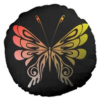 Butterfly Round Pillow