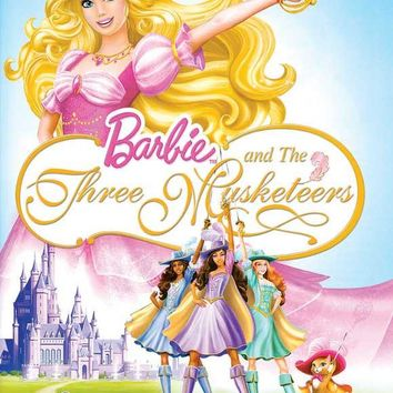 Barbie and the Three Musketeers 11x17 Movie Poster (2009)