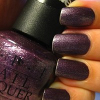 OPI SUEDE Collection~Lincoln Park After Dark Suede~W42