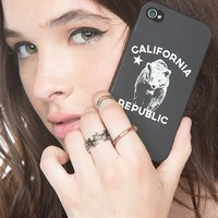 Brandy ♥ Melville |  California Republic iPhone 4/4s Case - iPhone Cases - Accessories