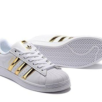 adidas Originals Women's Superstar W Fashion Sneaker US 7.5