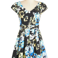 Bookmaking Lunch Dress in Radiance