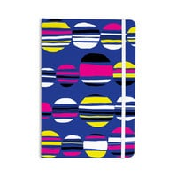 "Emine Ortega ""Retro Circles Cobalt"" Everything Notebook"