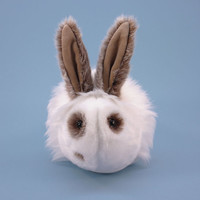 Reserved for Autumn Stuffed Bunny Stuffed Animal Cute Plush Toy Bunny Kawaii Plushie Large 6x10 Inches
