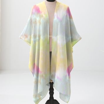 Tie Dye Yellow Bloom