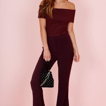 C/MEO | Don't Stop Pant - Aubergine