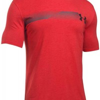 Under Armour Fast Logo T-Shirt In Red 1271719-600