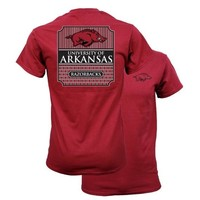 Southern Couture University of Arkansas Razorbacks Classic Preppy Girlie Bright T Shirt