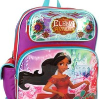 "Disney Princess Elena of Avalor Large 16"" Backpack"