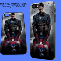 captain america the avenger iPhone Case, iPhone 5 Case, iPhone 4/4S, iPhone 5/5S/5C, Samsung Galaxy S2/S3/S4