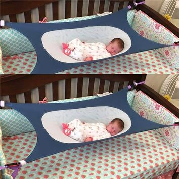 Infant Safety Baby Hammock Printed Newborn Children's Detachable Furniture Portable Bed Indoor Outdoor Hanging Seat Garden Swing