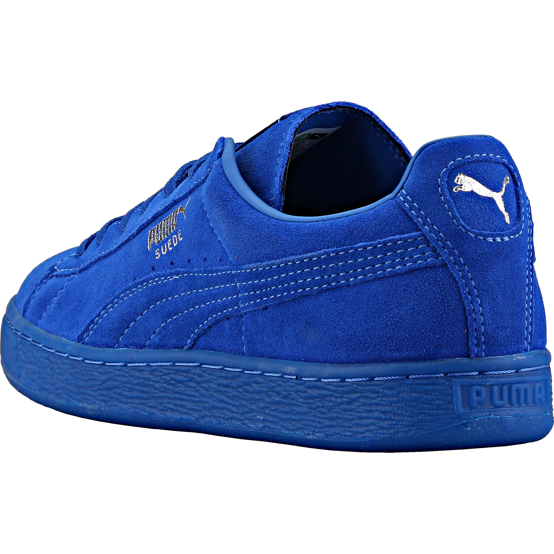 official photos 4c910 ff05a Puma Suede Classic + Iced - Royal Blue/Royal Blue