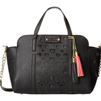 Betsey Johnson Open Your Heart Lg Satchel