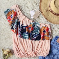 Free People Maui Ruffle Top