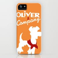 Oilver and company iPhone Case by Citron Vert | Society6