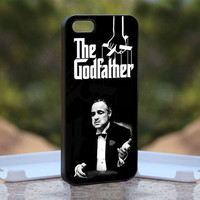 The Godfather Mafia MQL0208 - Design available for iPhone 4 / 4S and iPhone 5 Case - black, white and clear cases