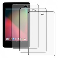 eForCity 3-Pack Anti-Glare Matte Clear LCD Guard Screen Protector Film Cover for Google Nexus 7 (PGOLNEXUSP04)