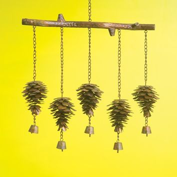 Pine Cone Wind Chime - New item!