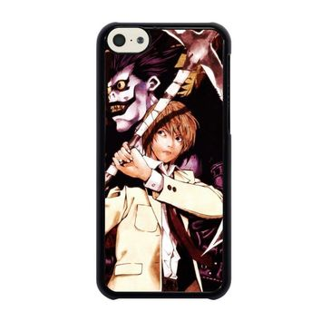 death note ryuk and light iphone 5c case cover  number 1
