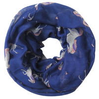 Blue Unicorn Infinity Scarf