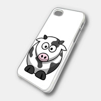 FUNNY ROUND FAT COW CARTOON iPhone Case Galaxy Case iPad Case HTC Case