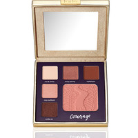 double duty beauty™ limited-edition eye & cheek palette - classic courage from tarte cosmetics