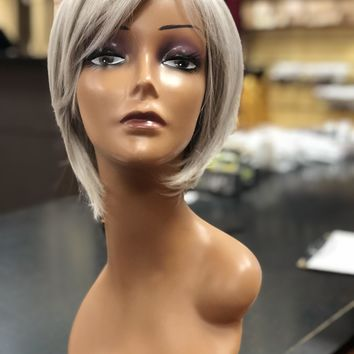 Sleek & Chic R56/60 SILVER LIGHT GREY  | HF Synthetic Wig by Hairdo