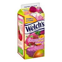 Welch's Fruit Juice Cocktail Blend Dragon Fruit Mango, 59.0 FL OZ - Walmart.com