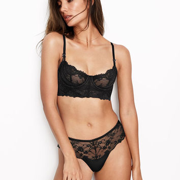 Wicked Unlined Uplift Long Line Bra - Dream Angels - Victoria's Secret