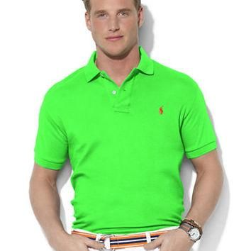 Polo Ralph Lauren Classic-Fit Short-Sleeved Interlock Polo Shirt