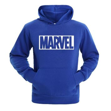 New Super Hero Marvel Sweatshirts Fashion Cotton Men Hoodies Marvel Cool Printed Sweatshirts Men Clothing Free Shipping