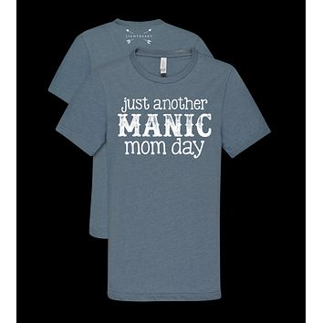 Southern Couture Lightheart Manic Mom Day Soft T-Shirt