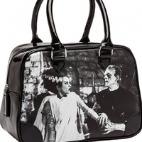 "Women's ""We Belong Dead"" Handbag by Rock Rebel (Black)"
