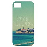 Gone Surfing Vintage Beach Cover For iPhone 5/5S