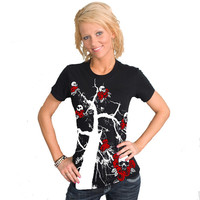 Day of the Dead American Apparel Fine Jersey Tee