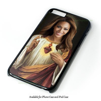 Beyonce Funny Catholic Saint Music Design for iPhone and iPod Touch Case