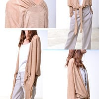 Tranparent Meditation - sheer zen cardigan (P1201)