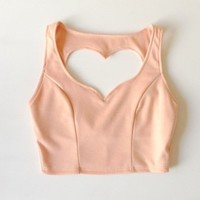 Heart Crop Top
