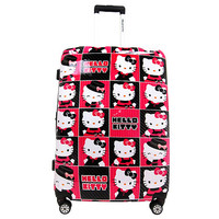Hello Kitty Hard-shell Poly-carbonate Spinner  Luggage Case [28 Inches]