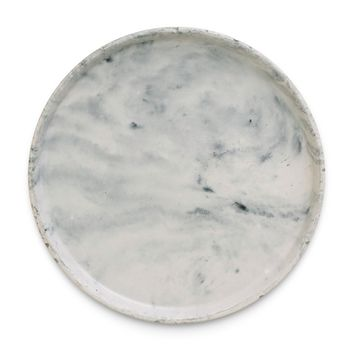 Large Marble Concrete Catchall Tray