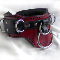 Bondage Collar for sub, slave, BDSM, Fetish, Kink